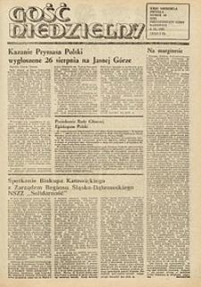 Gość Niedzielny, 1981, R. 58 [właśc. 54], nr 36