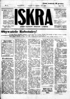 Iskra. Dziennik polityczny, społeczny i literacki, 1917, R. 8, nr 19
