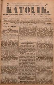 Katolik, 1885, R. 18, nr 36