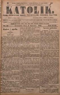 Katolik, 1885, R. 18, nr 42