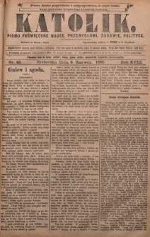 Katolik, 1885, R. 18, nr 43