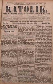 Katolik, 1885, R. 18, nr 47