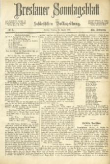 Breslauer Sonntagsblatt der Schlesischen Volkszeitung, 1883, Jg. 12, No. 3