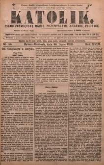 Katolik, 1885, R. 18, nr 58