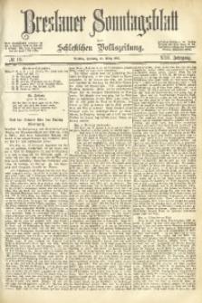 Breslauer Sonntagsblatt der Schlesischen Volkszeitung, 1884, Jg. 13, No. 11