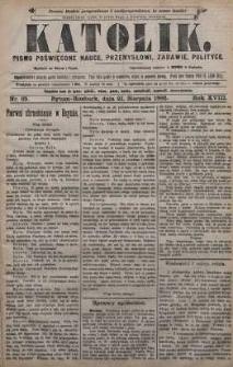 Katolik, 1885, R. 18, nr 65