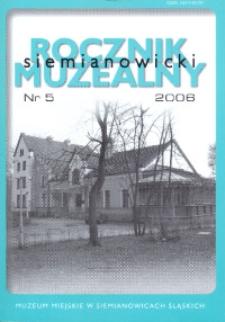 Siemianowicki Rocznik Muzealny, Nr 5 (2006)