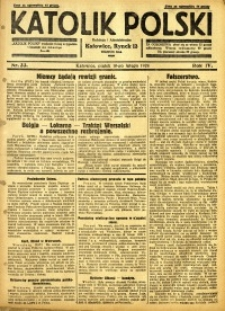 Katolik Polski, 1928, R. 4, nr 33