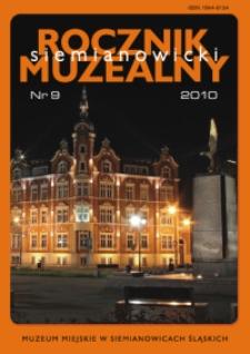 Siemianowicki Rocznik Muzealny, Nr 9 (2010)