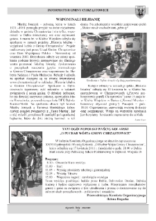 Informator Gminy Chrząstowice : gazeta samorządowa gminy Chrząstowice 2011, nr 1.