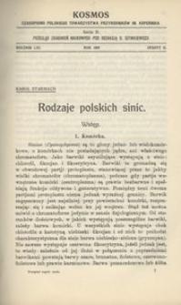 Kosmos. Serja B, 1936, R. 61, z. 2