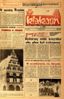 Klakson : gazeta załogi Zakładu Samochodów Dostawczych w Nysie 1984, nr 9 (272).