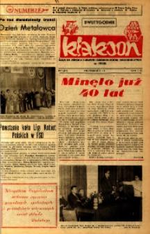 Klakson : gazeta załogi Zakładu Samochodów Dostawczych w Nysie 1985, nr 7 (285).