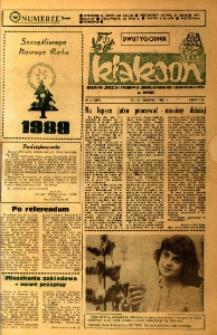 Klakson : gazeta załogi Zakładu Samochodów Dostawczych w Nysie 1987, nr 24 (350).
