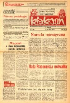 Klakson : gazeta załogi Zakładu Samochodów Dostawczych w Nysie 1990, nr 4 (402).