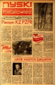 Nyski Metalowiec 1984, nr 3 (462).