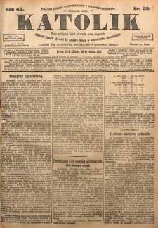 Katolik, 1912, R. 45, nr 39