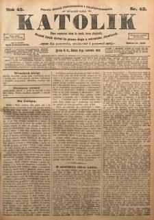 Katolik, 1912, R. 45, nr 42