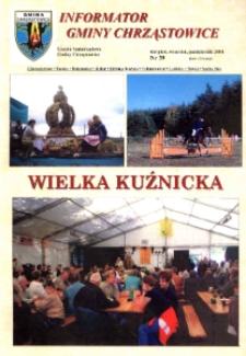 Informator Gminy Chrząstowice : gazeta samorządowa gminy Chrząstowice 2004, nr 39.