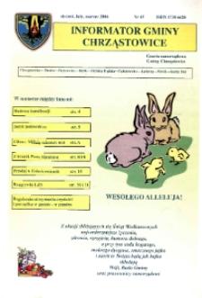Informator Gminy Chrząstowice : gazeta samorządowa gminy Chrząstowice 2006, nr 45.