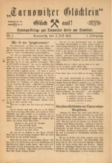 Tarnowitzer Glöcklein, 1921, Jg. 1, Nr. 7