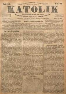 Katolik, 1912, R. 45, nr 64/65