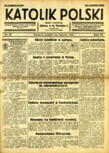 Katolik Polski, 1930, R. 6, nr 81
