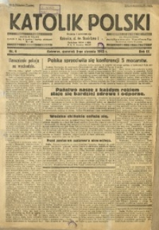 Katolik Polski, 1933, R. 9, nr 4