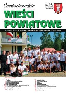 Częstochowskie Wieści Powiatowe, 2018, nr93