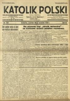 Katolik Polski, 1933, R. 9, nr 223