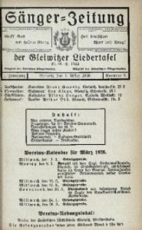 Sänger-Zeitung, 1926, Jg. 1, Nr. 3