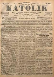 Katolik, 1912, R. 45, nr 83