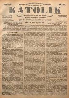 Katolik, 1912, R. 45, nr 88