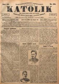 Katolik, 1912, R. 45, nr 93
