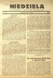 Niedziela, 1934, nr 7