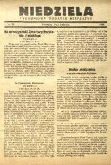 Niedziela, 1934, nr 13