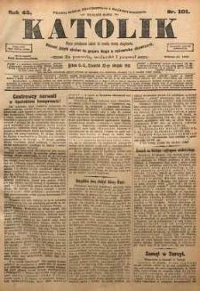 Katolik, 1912, R. 45, nr 101