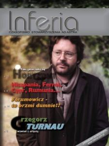 Inferia : czasopismo Stowarzyszenia Ad Astra 2009, nr 4.