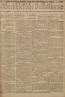 Oberschlesische Volksstimme, 1907, Jg. 32, Nr. 1