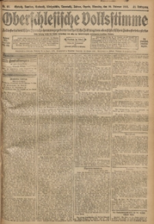 Oberschlesische Volksstimme, 1907, Jg. 33, Nr. 47