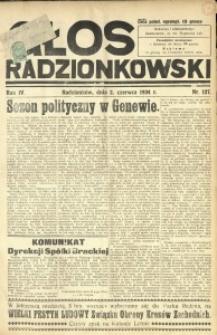 Głos Radzionkowski, 1934, R. 4, nr 127