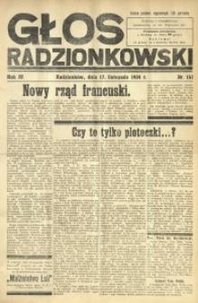 Głos Radzionkowski, 1934, R. 4, nr 151
