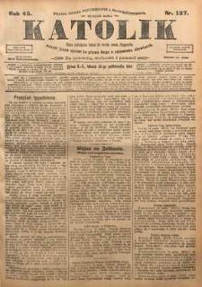 Katolik, 1912, R. 45, nr 127