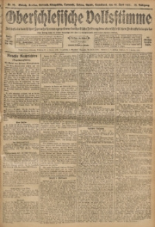 Oberschlesische Volksstimme, 1907, Jg. 33, Nr. 96