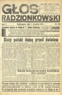 Głos Radzionkowski, 1935, R. 5, nr 193