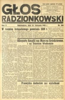 Głos Radzionkowski, 1935, R. 5, nr 204