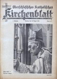 Oberschlesisches Katholisches Kirchenblatt , 1936, Jg. 1, Nr. 2