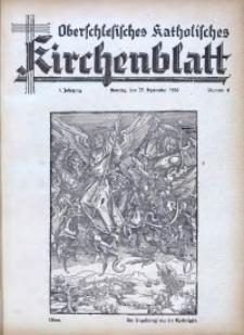 Oberschlesisches Katholisches Kirchenblatt , 1936, Jg. 1, Nr. 6