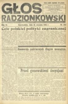 Głos Radzionkowski, 1936, R. 6, nr 212
