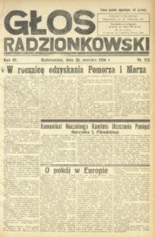Głos Radzionkowski, 1936, R. 6, nr 213